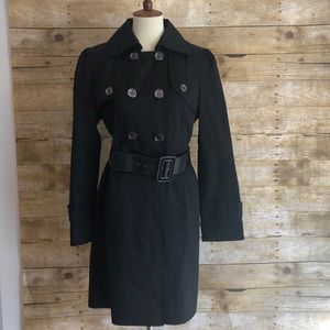 Guess Military Style Trench Coat Sz L